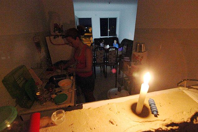 casa sem luz